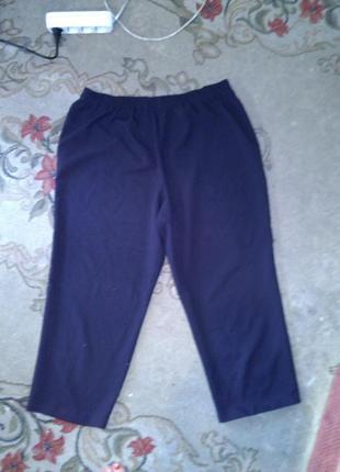 Чёрные,классические-повседневные брюки с карманами,большого 20...