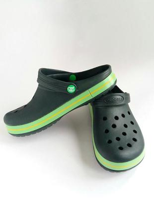 Женские сабо, кроксы . медицинская обувь. зеленый