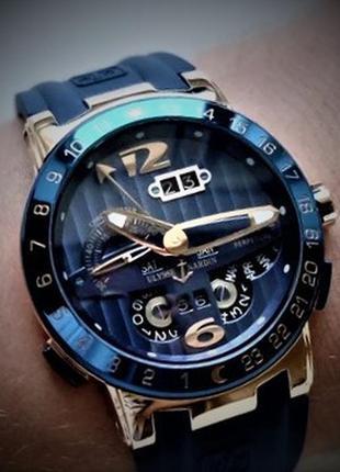 Часы механические мужские наручные, брендовые швейцарские часы.