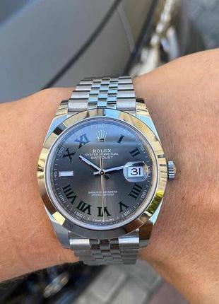 Часы наручные ролекс rolex женские часы rolex datejust silver-...