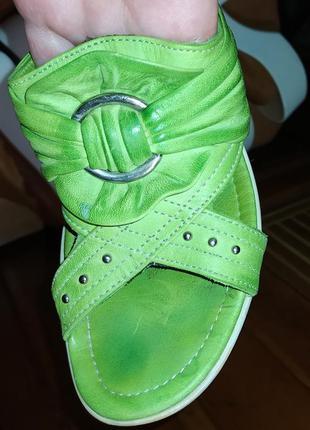 Сабо, босоножки hsm, летняя обувь,натур. кожа,размер 35