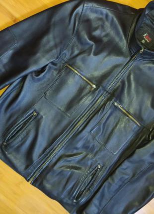 Куртка кожаная,куртка virado, лайка размер 52-54