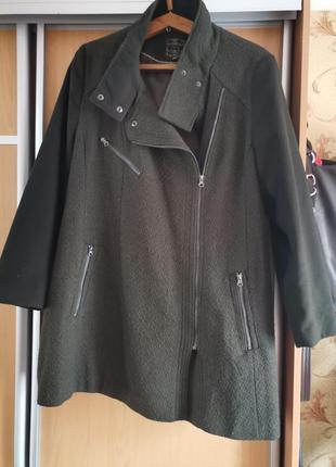 Шыкарное пальто большого размера