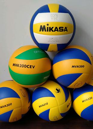 Мячи волейбольные Mikasa м'ячі волейбольні Микаса mva cev