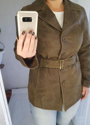 Кожаный пиджак,жакет sasha design and quality