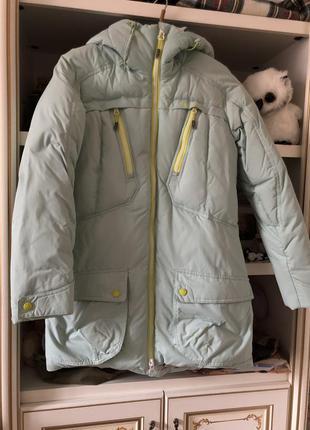 Дуже тепла зимова куртка/пуховик