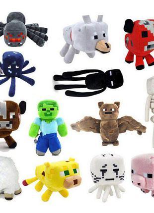 Мягкая игрушка Minecraft/Майнкрафт/ 20 видов/ Высота 23 см