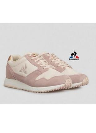 Кроссовки le coq sportif jazy w metallic 40eu cloud pink