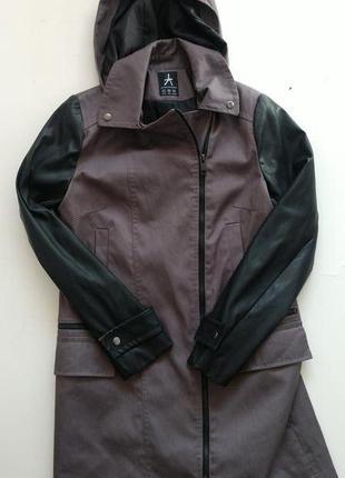 Куртка парка комбинированная