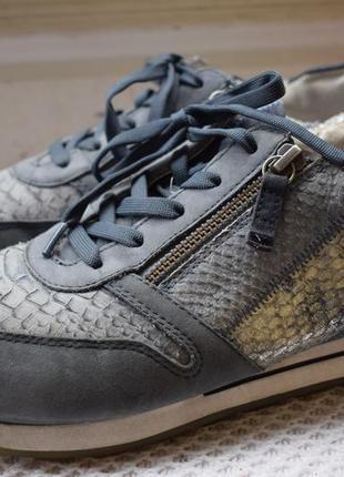 Кожаные туфли мокасины кроссовки gabor р.6 1/2 р.40  26 см