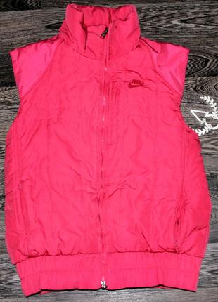 Nike жилетка теплая женская