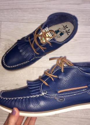 Мужская обувь, мокасины кожаные,туфли