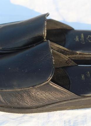 Кожаные тапочки. германия 43-44 men's collection