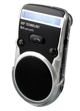 Bluetooth автогаритура громкой связи на солнечной батарее