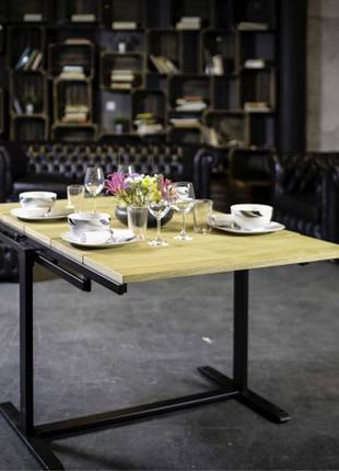 Стол трансформер, навесной стол, полки, стіл, столи.