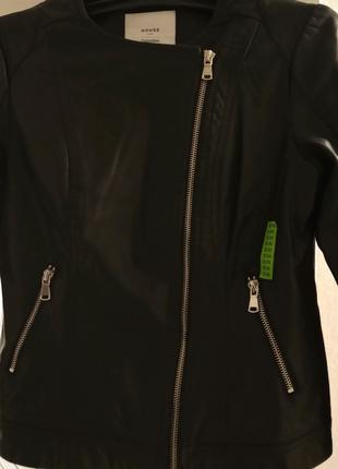 Куртка зі штучної шкіри розмір S