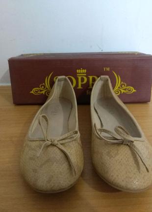 Балетки мокасины Sopra | Нові | Также Сандалии, босоножки, туфли