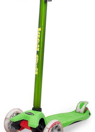 Кикборд маратон / Трехколесный самокат для детей /