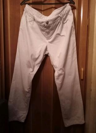 Стильные микровельветовые джинсы большого размера