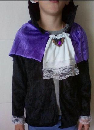 Карнавальный костюм дракула на 8-10 лет