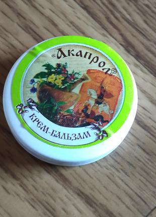 Крем-бальзам «Акапрол» дезодорант для ног  Серия «Травяные мази».