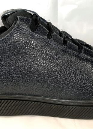 Стильные кожаные кеды MIDA, спорт-комфорт.40,41,42,43,44,44,45.