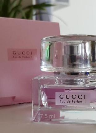 Gucci Eau de Parfum 2_Original mini 10 мл_затест parfum_Распив