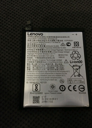 Lenovo BL270 АКБ батарея аккумулятор Motorola moto g6 play