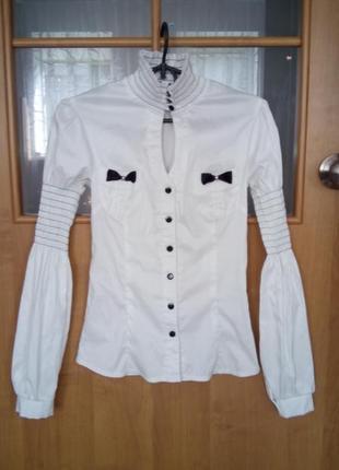 Блуза белая, нарядная( школьная форма)