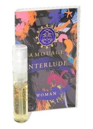 Amouage Interlude for woman_original EDP 2 мл затест_Распив