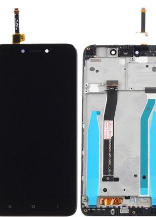 Дисплей Xiaomi Redmi 4X, Redmi 4X Pro black complete with frame