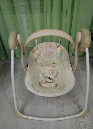 Кресло-качалка, шезлонг, качели
