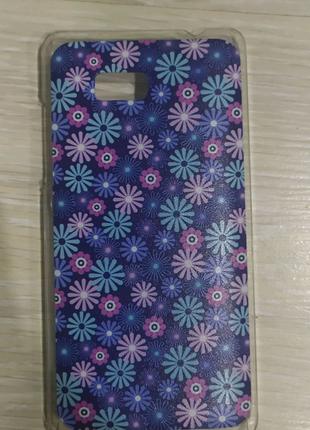 Чехол-бампер HTC desire 600 пластик - новый