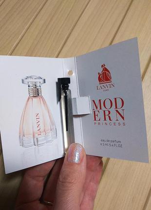 Духи парфюм аромат modern princess от lanvin ☕ объём 5мл
