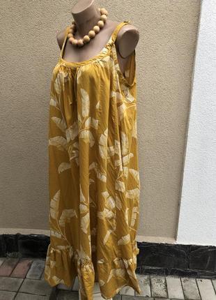 Длинный сарафан,летнее платье в принт,беременным,этно,бохо сти...