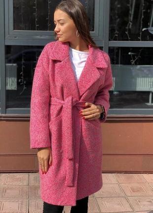 Стильное пальто пальтишко с шерстью в стиле оверсайз в стиле z...