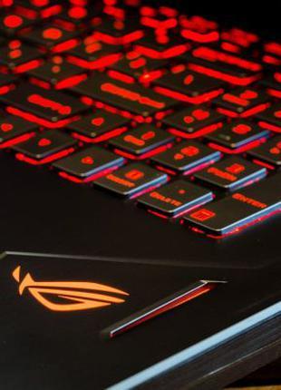 Крутой ИГРОВОЙ ноутбук 17 ДЮЙМОВ Asus ROG GL702VM | GTX 1060 6Gb!