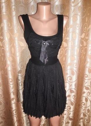 🌺👗🌺красивое трикотажное черное короткое платье signature!🔥🔥🔥