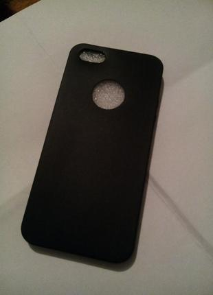 Силиконовая накладка на айфон 5
