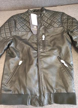 Куртка зам кожи нова розмір S-L