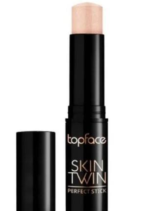 Хайлайтер-стик topface skin twin perfect stick # 003