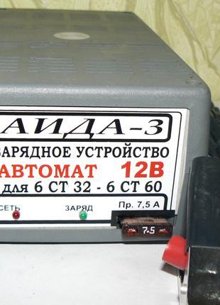 Автоматическое зарядное устройство АИДА-3 для аккумуляторов