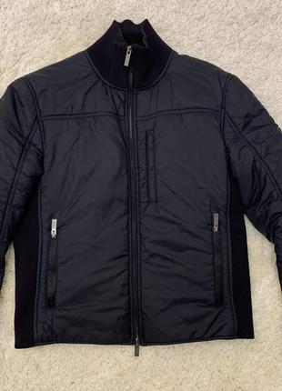 Giorgio armani collezioni куртка пуховик оригинал чорная