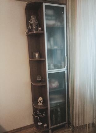 Угловой шкаф-пенал