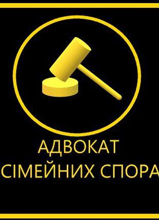 Адвокат у сімейних спорах / розлучення / поділ майна / РАЗВОД
