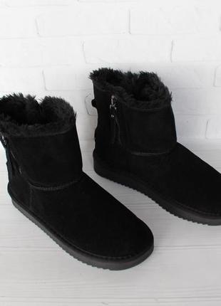 Зимние натуральные замшевые, кожаные угги, ugg  37 размера