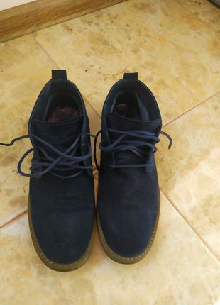 Мужские замшевые туфли