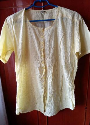Летняя женская блузка р.xl
