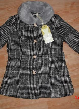 Новинка!!!!! модное пальто на девочек 3/4 года с европы.
