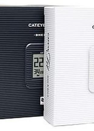 Вело_компьютер СATEYE Fit Wireless (White) + шагомер